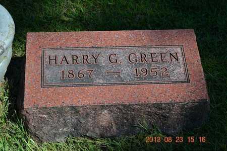 GREEN, HARRY G. - Branch County, Michigan | HARRY G. GREEN - Michigan Gravestone Photos