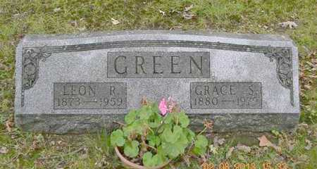 GREEN, LEON R. - Branch County, Michigan | LEON R. GREEN - Michigan Gravestone Photos