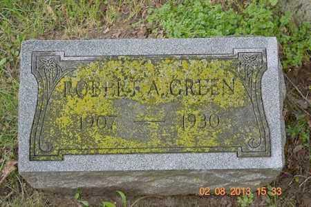 GREEN, ROBERT A. - Branch County, Michigan | ROBERT A. GREEN - Michigan Gravestone Photos
