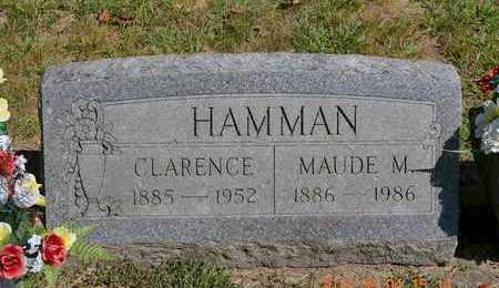 HAMMAN, CLARENCE - Branch County, Michigan | CLARENCE HAMMAN - Michigan Gravestone Photos