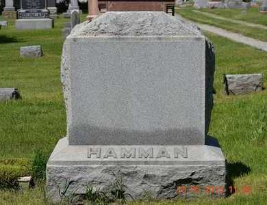HAMMAN, MARY - Branch County, Michigan | MARY HAMMAN - Michigan Gravestone Photos