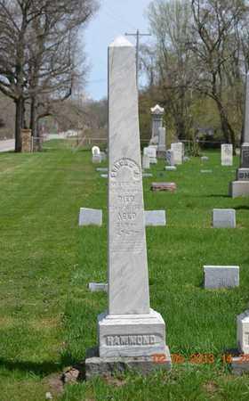 HAMMOND, DORCAS W. - Branch County, Michigan | DORCAS W. HAMMOND - Michigan Gravestone Photos