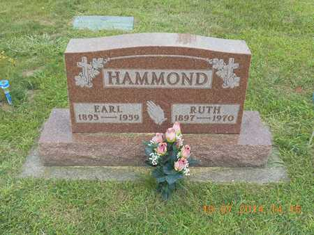 HAMMOND, EARL LEWIS - Branch County, Michigan | EARL LEWIS HAMMOND - Michigan Gravestone Photos