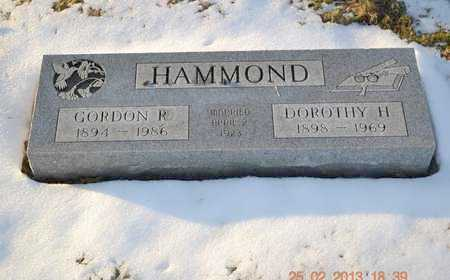 HAMMOND, GORDON R. - Branch County, Michigan | GORDON R. HAMMOND - Michigan Gravestone Photos
