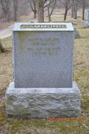 HAMMOND, MARTIN LUTHER - Branch County, Michigan | MARTIN LUTHER HAMMOND - Michigan Gravestone Photos
