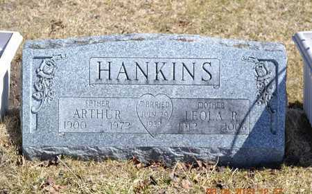 HANKINS, ARTHUR - Branch County, Michigan | ARTHUR HANKINS - Michigan Gravestone Photos