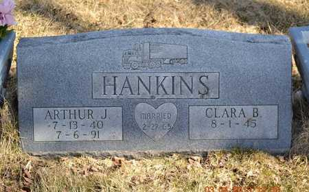 HANKINS, CLARA B. - Branch County, Michigan | CLARA B. HANKINS - Michigan Gravestone Photos