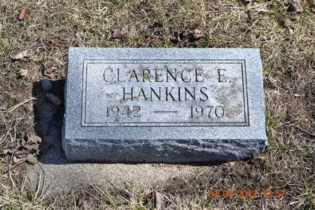 HANKINS, CLARENCE E. - Branch County, Michigan   CLARENCE E. HANKINS - Michigan Gravestone Photos