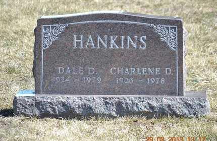 HANKINS, CHARLENE D. - Branch County, Michigan   CHARLENE D. HANKINS - Michigan Gravestone Photos