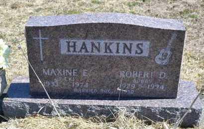HANKINS, MAXINE E. - Branch County, Michigan | MAXINE E. HANKINS - Michigan Gravestone Photos