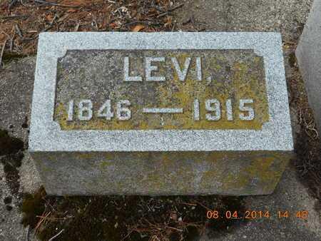 HARLEY, LEVI - Branch County, Michigan | LEVI HARLEY - Michigan Gravestone Photos