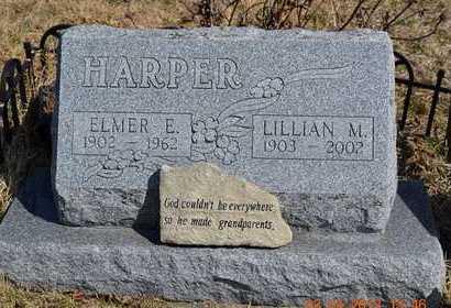 HARPER, LILLIAN M. - Branch County, Michigan | LILLIAN M. HARPER - Michigan Gravestone Photos