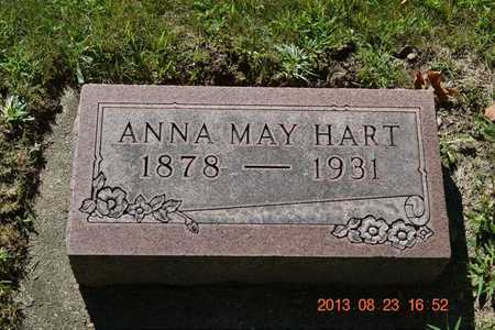 HART, ANNA MAY - Branch County, Michigan | ANNA MAY HART - Michigan Gravestone Photos