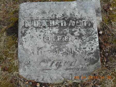 HART, NOAH - Branch County, Michigan | NOAH HART - Michigan Gravestone Photos