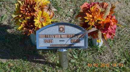 HASTY, BETTY L. - Branch County, Michigan | BETTY L. HASTY - Michigan Gravestone Photos