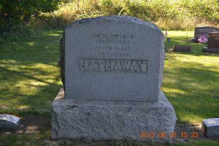 HATHAWAY, EDITH OLIVE - Branch County, Michigan | EDITH OLIVE HATHAWAY - Michigan Gravestone Photos