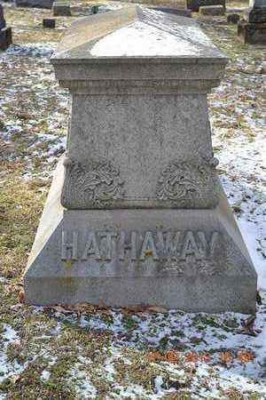 HATHAWAY, FAMILY - Branch County, Michigan   FAMILY HATHAWAY - Michigan Gravestone Photos