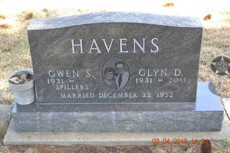 HAVENS, GLYN D. - Branch County, Michigan   GLYN D. HAVENS - Michigan Gravestone Photos
