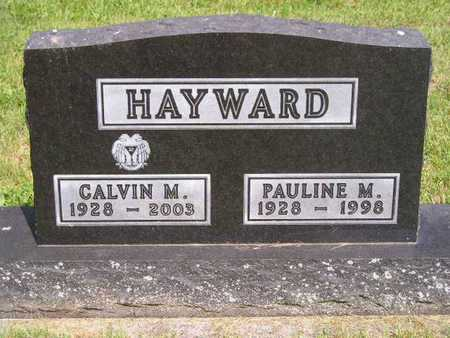HAYWARD, PAULINE M. - Branch County, Michigan | PAULINE M. HAYWARD - Michigan Gravestone Photos