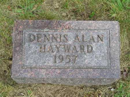 HAYWARD, DENNIS ALAN - Branch County, Michigan | DENNIS ALAN HAYWARD - Michigan Gravestone Photos