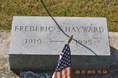HAYWARD, FREDERIC S. - Branch County, Michigan | FREDERIC S. HAYWARD - Michigan Gravestone Photos