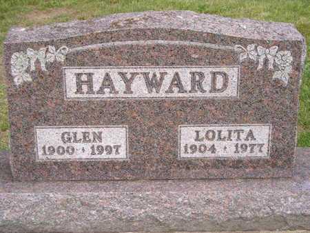 HAYWARD, GLEN - Branch County, Michigan | GLEN HAYWARD - Michigan Gravestone Photos