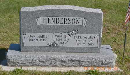 HENDERSON, CARL WILBUR - Branch County, Michigan | CARL WILBUR HENDERSON - Michigan Gravestone Photos