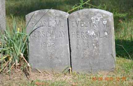 HERSCHLAY, PEARL M. - Branch County, Michigan | PEARL M. HERSCHLAY - Michigan Gravestone Photos