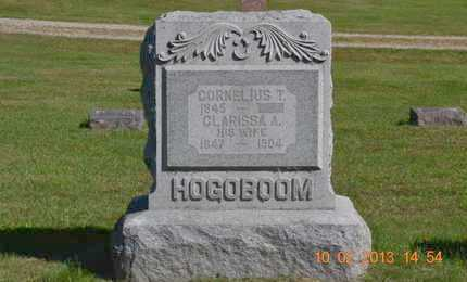 HOGOBOOM, CORNELIUS T. - Branch County, Michigan | CORNELIUS T. HOGOBOOM - Michigan Gravestone Photos