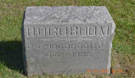 HOGOBOOM, JR., CORNELIUS T. - Branch County, Michigan | CORNELIUS T. HOGOBOOM, JR. - Michigan Gravestone Photos