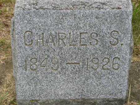 HOSKIN, CHARLES S. - Branch County, Michigan | CHARLES S. HOSKIN - Michigan Gravestone Photos