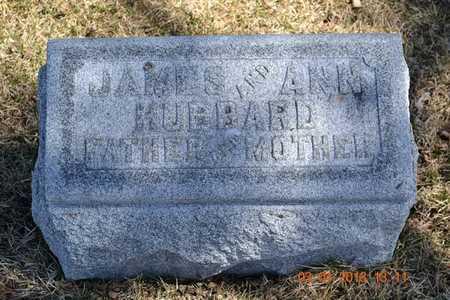 HUBBARD, ANN - Branch County, Michigan | ANN HUBBARD - Michigan Gravestone Photos