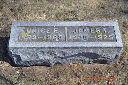HUBBARD, EUNICE E. - Branch County, Michigan | EUNICE E. HUBBARD - Michigan Gravestone Photos