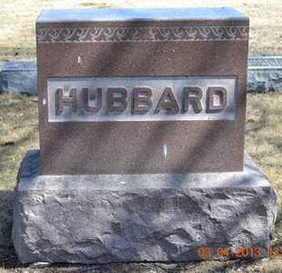 HUBBARD, LOT MARKER - Branch County, Michigan | LOT MARKER HUBBARD - Michigan Gravestone Photos