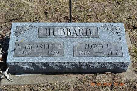 HUBBARD, MARGARETT E. - Branch County, Michigan | MARGARETT E. HUBBARD - Michigan Gravestone Photos