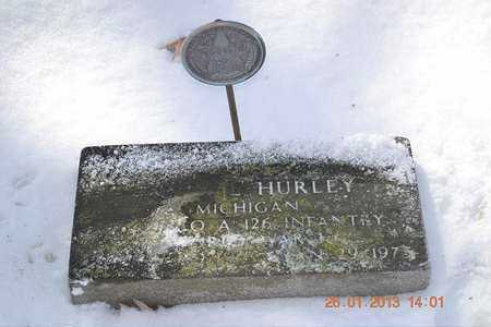 HURLEY, ERVIN L. - Branch County, Michigan | ERVIN L. HURLEY - Michigan Gravestone Photos