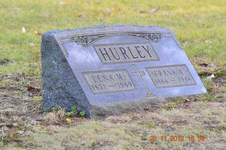 HURLEY, LENA M. - Branch County, Michigan | LENA M. HURLEY - Michigan Gravestone Photos