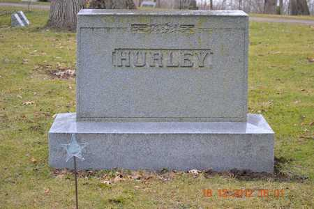 HURLEY, FAMILY - Branch County, Michigan | FAMILY HURLEY - Michigan Gravestone Photos