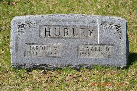 HURLEY, HAROLD V. - Branch County, Michigan | HAROLD V. HURLEY - Michigan Gravestone Photos