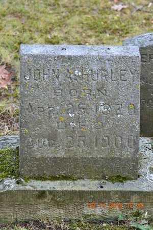 HURLEY, JOHN A. - Branch County, Michigan | JOHN A. HURLEY - Michigan Gravestone Photos