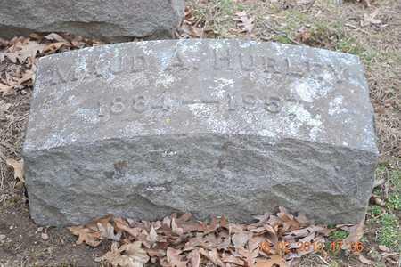 HURLEY, MAUD A. - Branch County, Michigan | MAUD A. HURLEY - Michigan Gravestone Photos