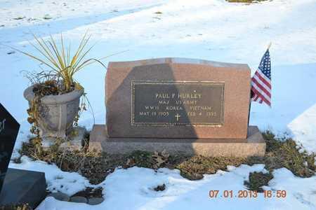 HURLEY, PAUL F. - Branch County, Michigan | PAUL F. HURLEY - Michigan Gravestone Photos