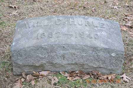 HURLEY, WILL C. - Branch County, Michigan | WILL C. HURLEY - Michigan Gravestone Photos