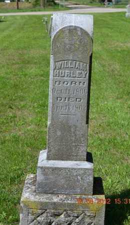 HURLEY, WILLIAM - Branch County, Michigan | WILLIAM HURLEY - Michigan Gravestone Photos