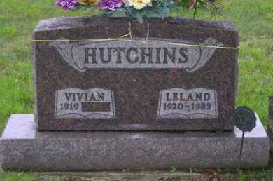 HUTCHINS, VIVIAN - Branch County, Michigan | VIVIAN HUTCHINS - Michigan Gravestone Photos