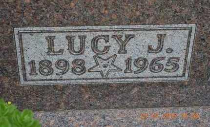 INGALLS, LUCY J. - Branch County, Michigan | LUCY J. INGALLS - Michigan Gravestone Photos