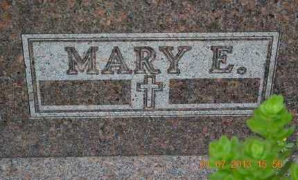 INGALLS, MARY E. - Branch County, Michigan | MARY E. INGALLS - Michigan Gravestone Photos