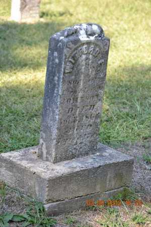 JOHNSON, WINFORD E. - Branch County, Michigan | WINFORD E. JOHNSON - Michigan Gravestone Photos