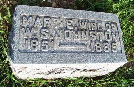 JOHNSTON, MARY - Branch County, Michigan   MARY JOHNSTON - Michigan Gravestone Photos