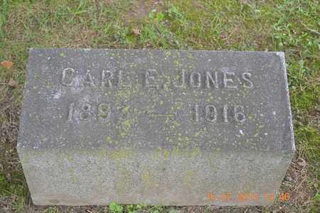 JONES, CARL E. - Branch County, Michigan   CARL E. JONES - Michigan Gravestone Photos